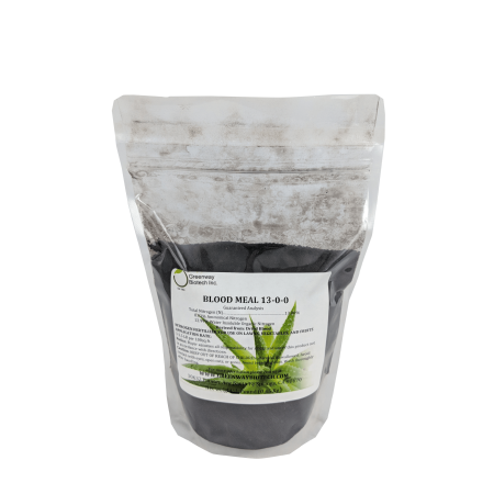 Blood Meal Fertilizer 13 0 0   Greenway Biotech Brand   1 Pound