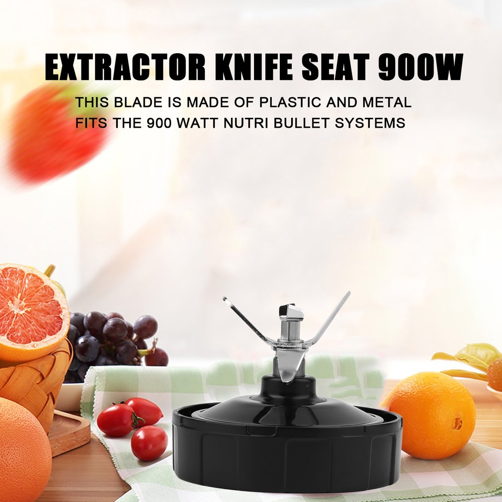 Practical Plastic Replacement Juicer Knife Seat Metal Extractor For Nutri Ninja Blender 900W Blender Blade