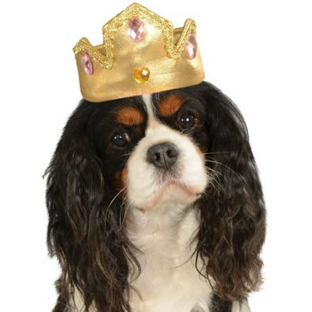 M&s Halloween Sweets (Rubies Pet Princess Halloween Costume Gold Dog Hat Tiara)