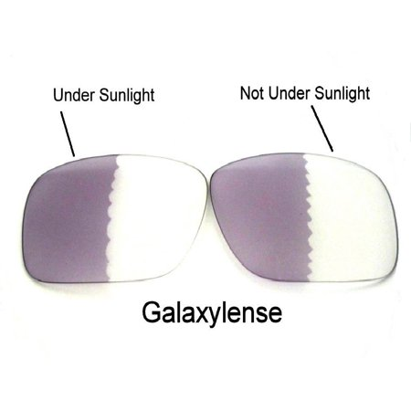 Galaxy Replacement Lenses for Oakley Oil Drum Photochromic Transition Change To Darker Grey Color