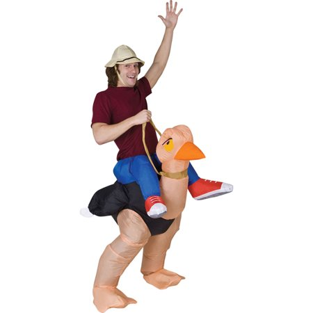 Morris Costumes Adult Ollie Ostrich Inflatables Costume One Size, Style SS24537G - Diy Ostrich Costume