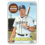 2018 Topps Heritage #198 Hunter Renfroe San Diego Padres Baseball Card