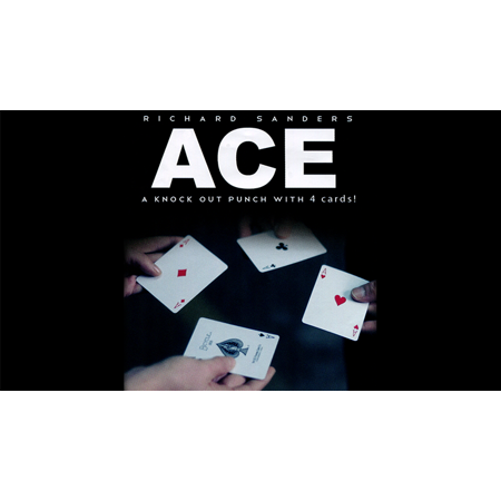 ACE (Cards and Online Instructions) by Richard Sanders - Trick Stripper Card Tricks