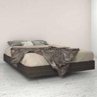 Tribeca Platform Bed, Ebony, Multiple Sizes