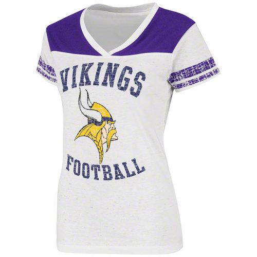 NFL - Minnesota Vikings Women's TMT II V-Neck T-Shirt