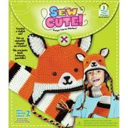 Sew Cute Crochet Fox Hat & Scarf