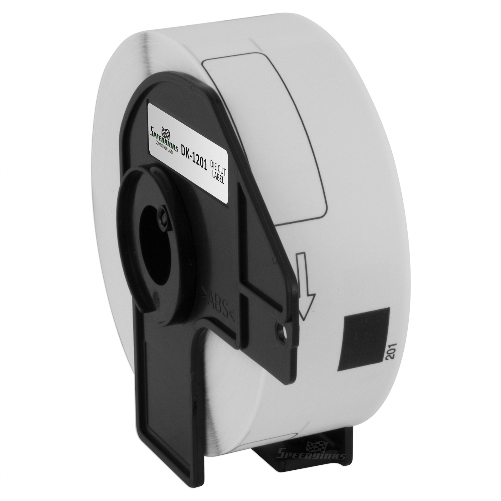 Speedy Inks Compatible Address Label Replacement for Brother DK-1201 | 1.1 in x 3.5 in 29 mm x 90.3mm (White)