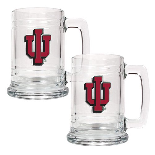 Great American NCAA 15 oz. Glass Tankard Set