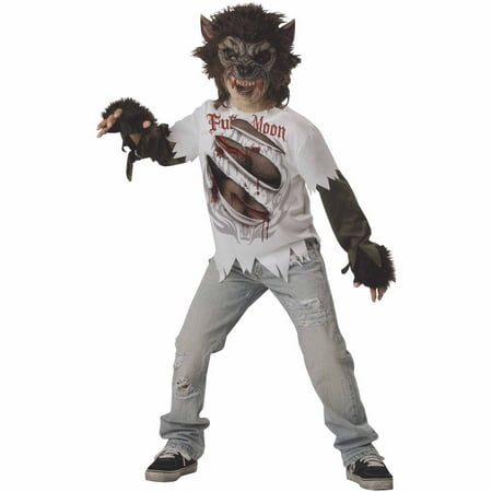 Werewolf Child Halloween - Werewolf Halloween Costume Child