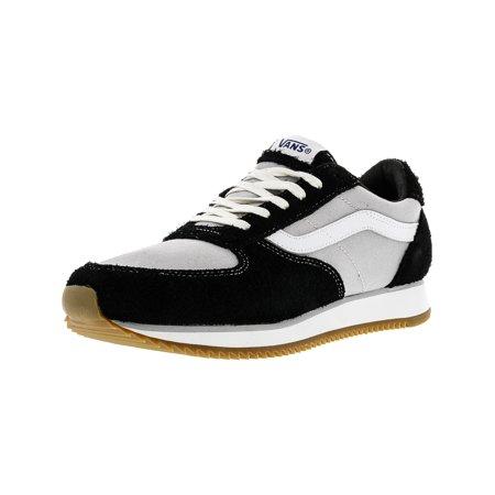 67cb1426ea Vans - Vans Runner Varsity Sport 84 Black   True White Ankle-High  Skateboarding Shoe - 10M 8.5M - Walmart.com