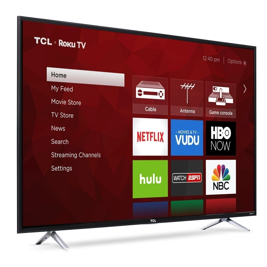 "TCL 55S403 4k 55"" LED TV, Black (Refurbished)"