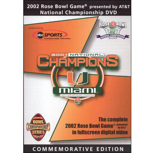 2002 Rose Bowl Game National Championship (Commemorative Edition) (Full Frame, COMMEMORATIVE)