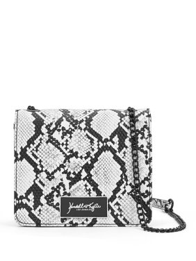 Kendall + Kylie Snake Mini Chain Crossbody Bag