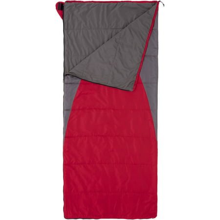 Ozark Trail Climatech 30 Degree Cold Weather Lightweight Sleeping Bag  Red