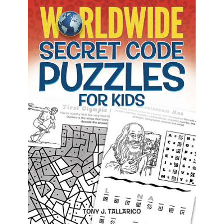 Worldwide Secret Code Puzzles for Kids - The Cute Kid Promo Code