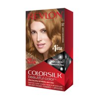 Colorsilk Beautiful Color # 57 Lightest Golden Brown by Revlon for Unisex - 1 Application Hair Color