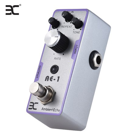ENO EX AE-1 Electric Guitar Ambient Echo Effect Pedal Full Metal Shell True Bypass Echo 1 Metal