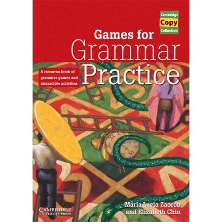 Games for Grammar Practice - Grammar Review Games