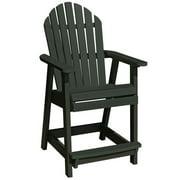 HighwoodUSA AD-CHCA2-CHE Hamilton Counter Deck Chair, Charleston Green