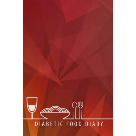 Diabetic Food Diary :Food and Blood Sugar Journal, Diabetic Glucose Log, 6 X 9 Inch 110 Pages with Page Number (Food and Blood Sugar for Diabetics) (Volume