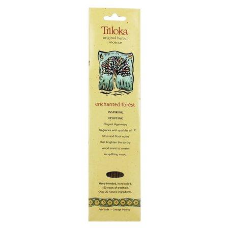 Triloka - Original Herbal Incense Enchanted Forest - 10 Stick(s)