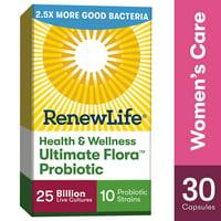 Renew Life Women's Probiotic, #1 Women's Probiotic, 25 Billion, 30 Ct