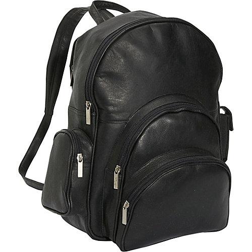 David King & Co 321B Expandable Computer Backpack- Black