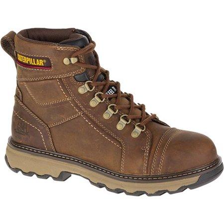 """""""CAT Footwear Granger 6 Inch - Dark Beige 8.5(W) Work Boot"""""""