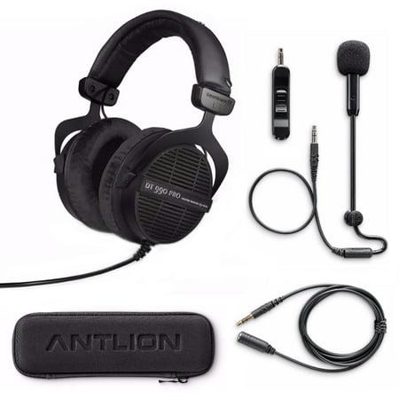 beyerdynamic dt 990 pro studio headphones ninja black and mod mic bundle. Black Bedroom Furniture Sets. Home Design Ideas