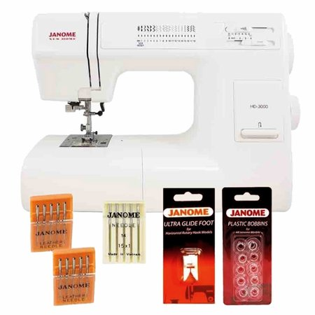 Janome HD40 Sewing Machine With Hard Case Ultra Glide Foot Blind Beauteous Janome Hd3000 Sewing Machine