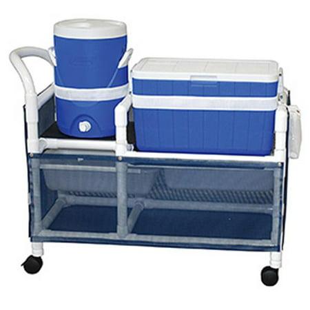 Mjm International Wt830 Wood Tone Hydration Cart
