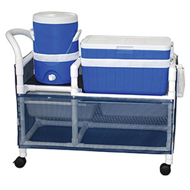 MJM International WT830 Wood Tone Hydration Cart