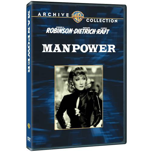 Manpower (1941) DVD Movie 1941