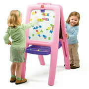 Step2 Easel for Two, Pink Chalk and White Boards With 77 Piece Art Kit