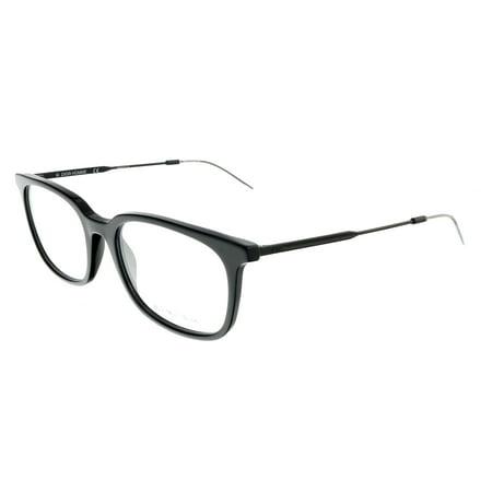 DIOR HOMME BLACKTIE210 Black Matte Square (Dior Eyeglasses Men)