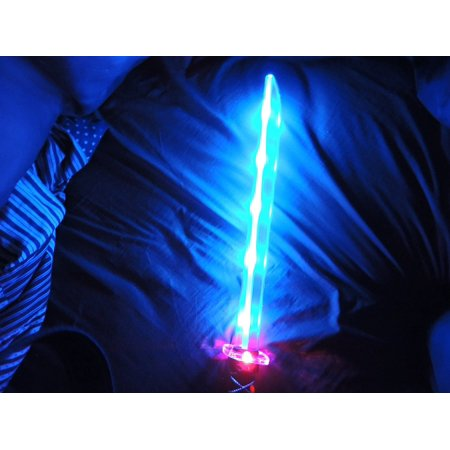 Deluxe Ninja LED Light up Sword with Motion Activated Clanging Sounds, By blinkee - Sound Activated Flower