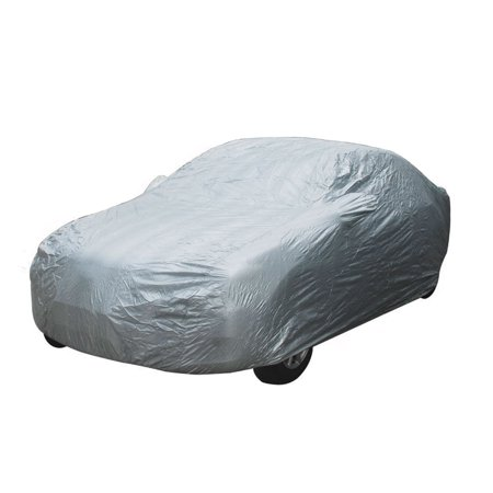 Full Car Cover Waterproof Snow Dust Rain UV Resistant All Weather Protection Fits up to 188 inches - Weather Waterproof Motorcycle Cover