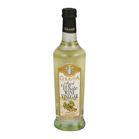 (2 Pack) Colavita Aged White Wine Vinegar, 17.0 FL OZ