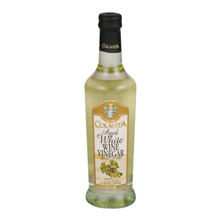 (2 Pack) Colavita Aged White Wine Vinegar, 17.0 FL OZ