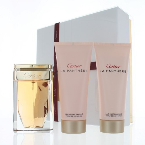 CARTIER LA PANTHERE WOMEN 3 PIECE GIFT SET - 2.5 OZ EAU DE PARFUM SPRAY by CARTIER