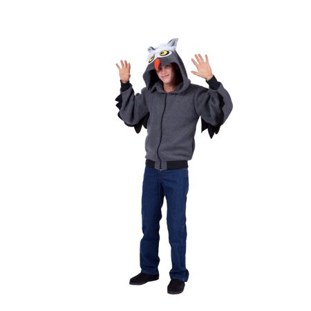 Oxford Owl Adult Hoodie - Owl Costume Adults