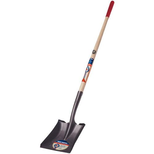 True Temper 1564200 Square Point True American Wood Handle Shovel