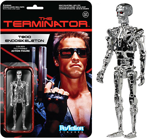 Terminator T800 Endoskeleton ReAction Figure