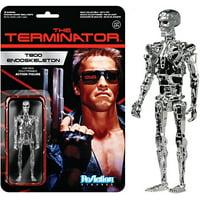 Funko The Terminator ReAction T800 Endoskeleton Action Figure [Chrome]