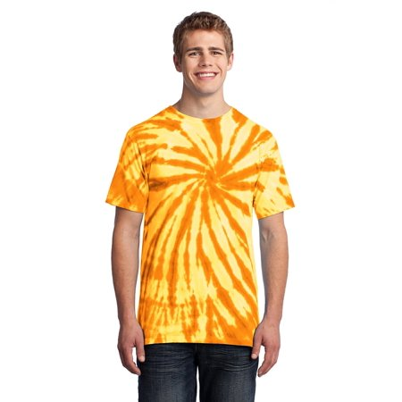 Port & Company® - Tie-Dye Tee. Pc147 Gold M - image 1 de 1