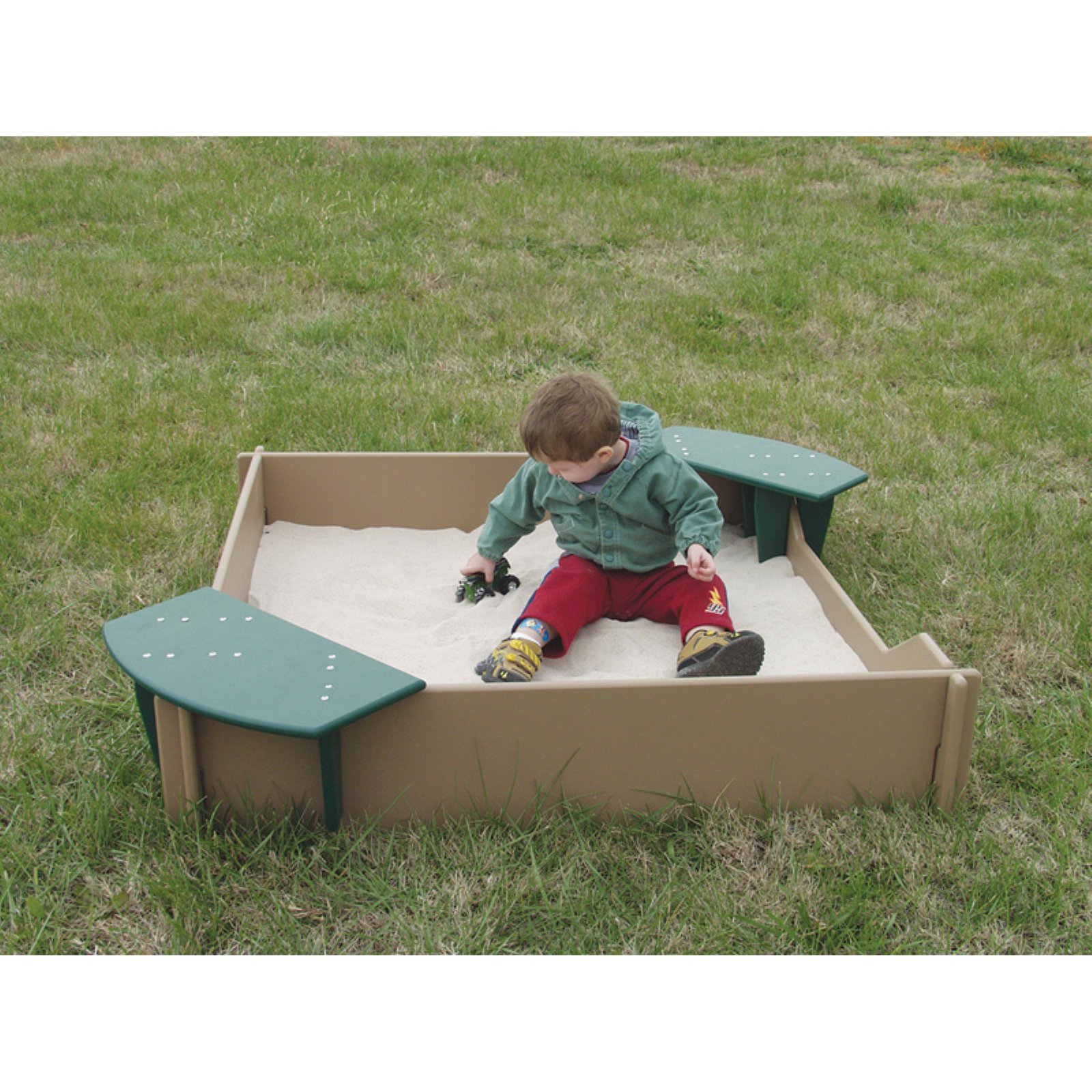 Sportsplay Tot Town Sandbox - Natural