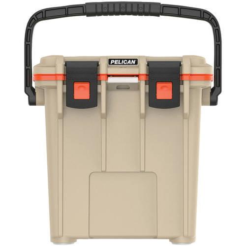 Pelican Elite Cooler, Tan/Orange, 20 qt.
