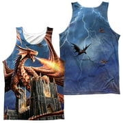 Anne Stokes - Dragons Fury (Front/Back Print) - Tank Top - XX-Large