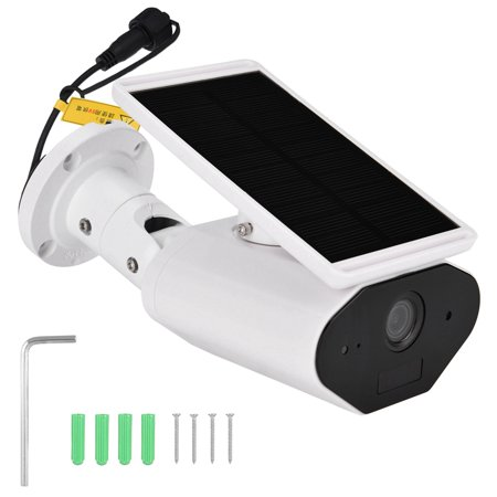 FAGINEY Waterproof Camera,Wireless Surveillance,960P WiFi Solar Energy Security Camera Wireless Waterproof Energy-saving Surveillance Camera - image 1 of 8