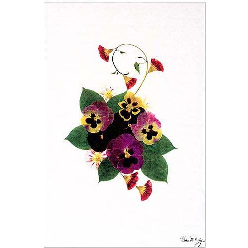 "Trademark Art ""Frivolity"" Canvas Art by Kathie McCurdy, 16x24"